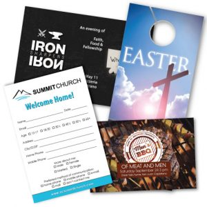 church marketing materials